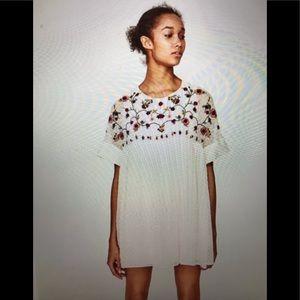 Zara babydoll Dress Trafaluc Collection